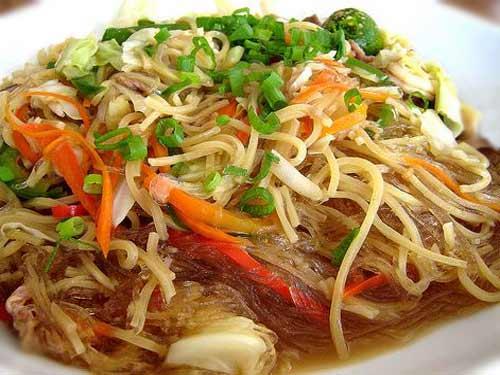 Bam-i Noodles, Tengang Daga, Pancit Canton, Sotanghon