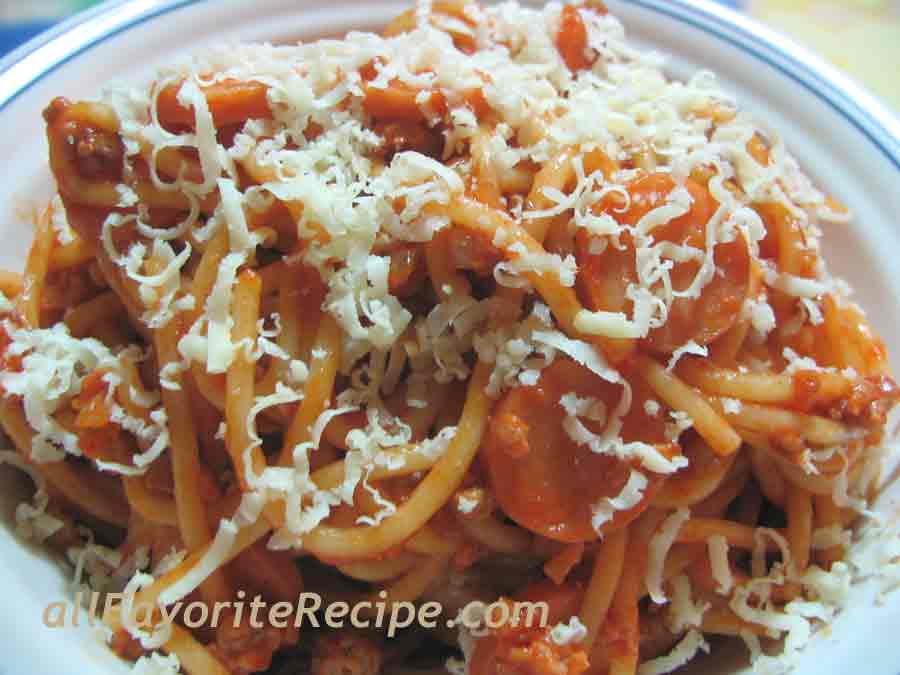 Spaghetti My Kids Favorite Pasta